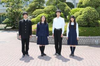 東金高等学校制服画像